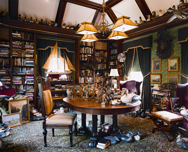 Kimball Victorian Furniture In a turn-of-thecentury Shingle/Colonial Revival house, the master's ...