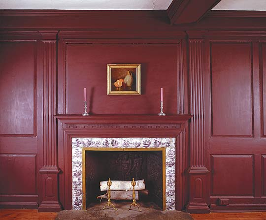 A Frame For The Fireplace Old House Online Old House