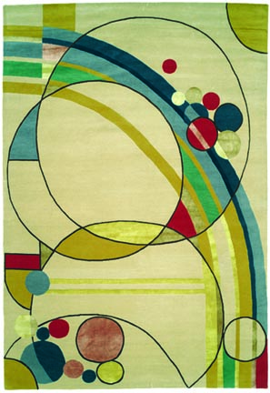 Arts crafts rug renaissance old house online old house online - Frank lloyd wright rugs ...