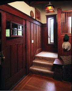 Arts crafts door options old house online old house for Arts and crafts wainscoting
