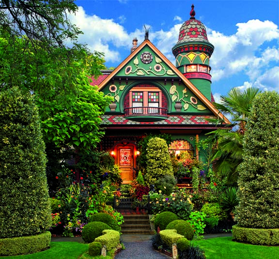 Colorful Curb Appeal For A Fanciful Victorian Home Old House Online