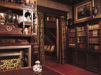 Thomas Edison   s Queen Anne house in New Jersey had high-style    Queen Anne Architecture Interior
