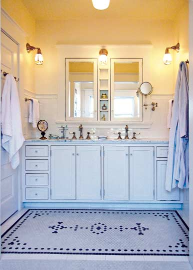 Ideas for 20th century baths old house online old house online