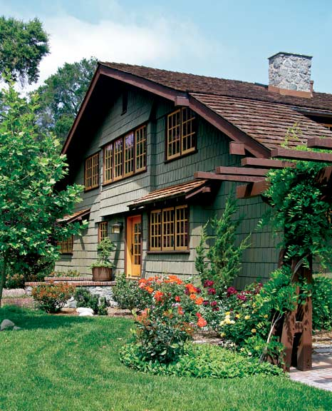 The Eclectic Architecture Of Claremont California Old House Online Old House Online