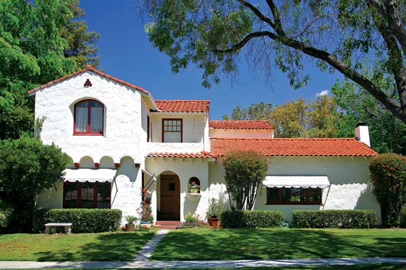 The Eclectic Architecture Of Claremont California on custom designed courtyard
