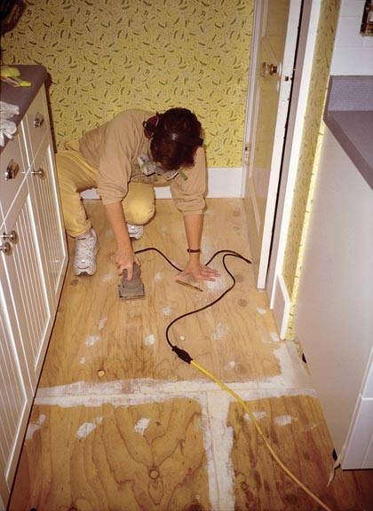 How To Lay Linoleum Tile Old House Online