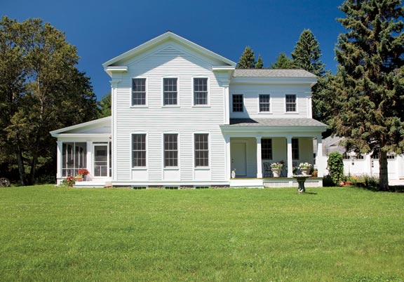New Greek Revival Farmhouse Old House Online Old House