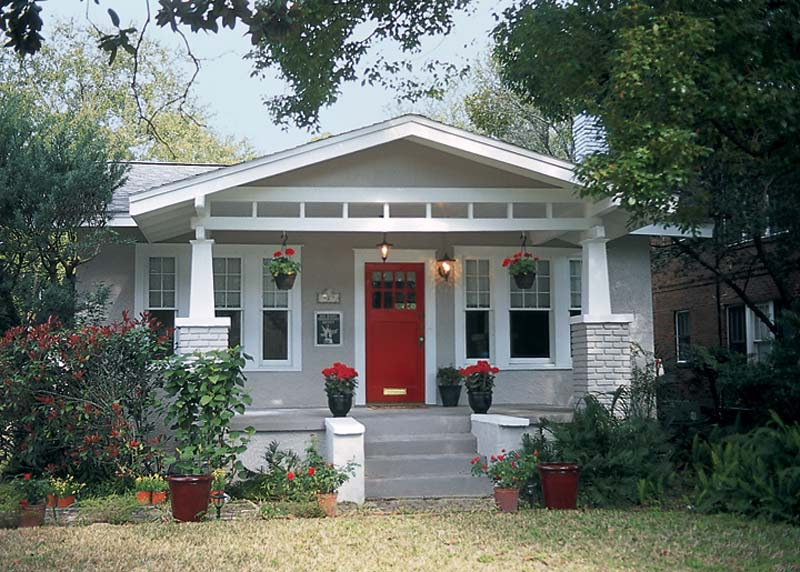 Arts crafts architecture and how to spot arts crafts homes old house online old house online - Arts and crafts bungalow house plans paint ...