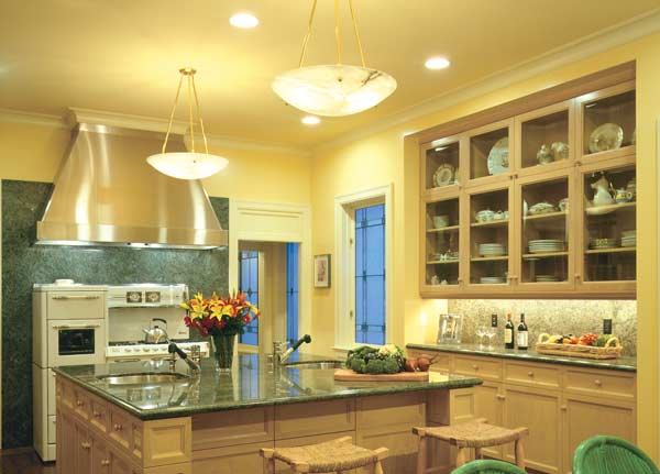How To Improve Kitchen Lighting Designs And Selections Lifestyle - Kitchen spotlight fixtures