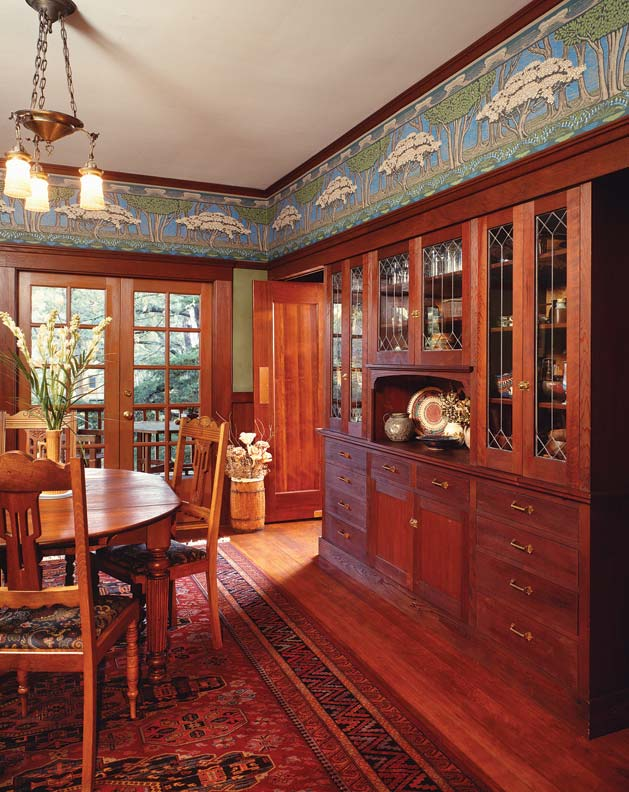 wallpaper for arts crafts homes old house online old
