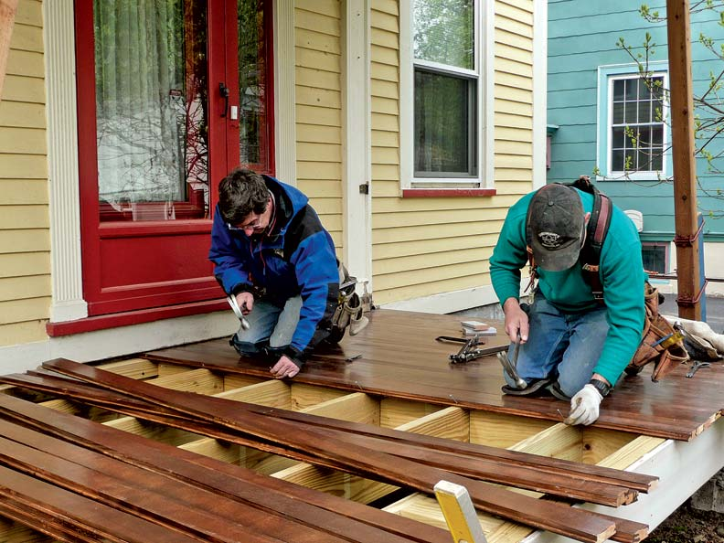 Fixing The Porch Old House Online