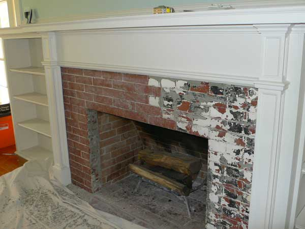 Creating An Art Tile Fireplace Old House Online Old House Online