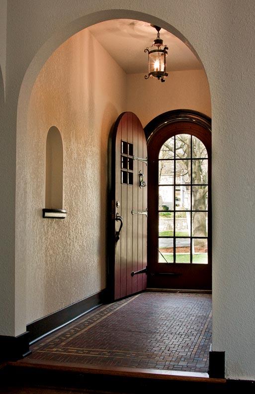 An energy efficient tudor retrofit old house online for Energy efficient entry doors