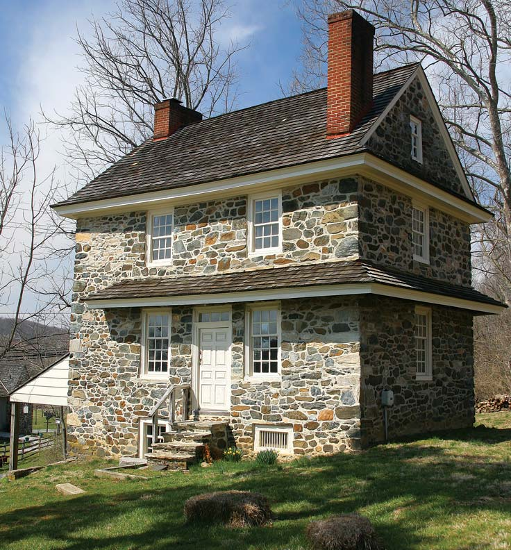 Farmhouses of the Brandywine Valley Pennsylvania Old House line Old Ho