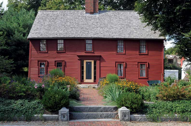 Creating a colonial garden old house online old house for Garden design 18th century