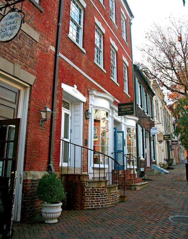 Colonial Architecture In Alexandria Virginia Old House