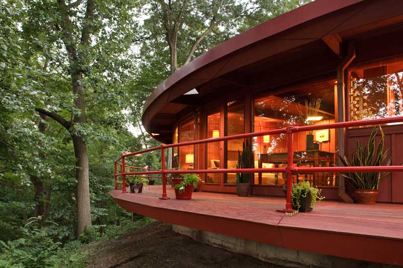A Modern House Inspired By Frank Lloyd Wright Old House