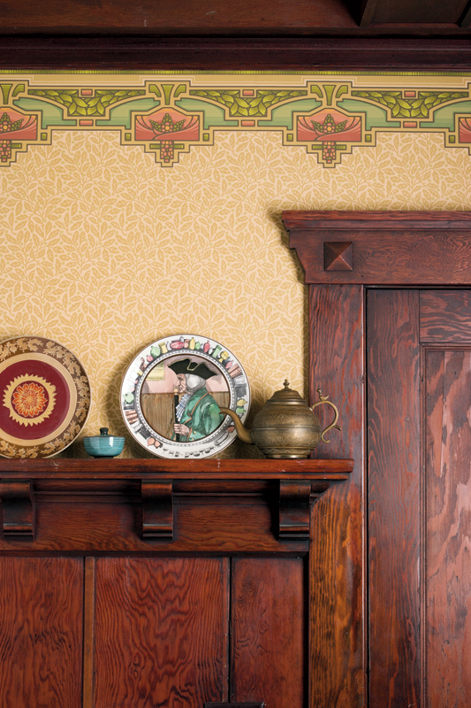 All About Wallpaper Friezes Old House Online Old House