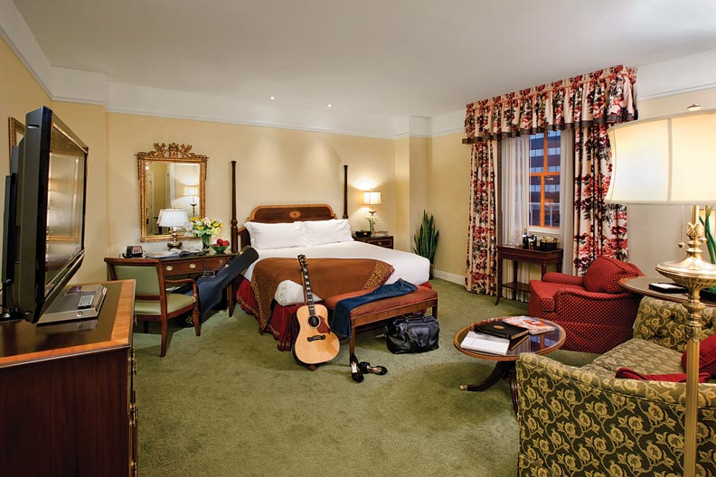 Historic retreats nashville 39 s hermitage hotel old house - Hotel suites nashville tn 2 bedroom ...