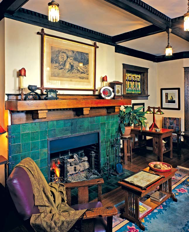 Fireplace Ideas for Bungalows - Old-House Online - Old ...
