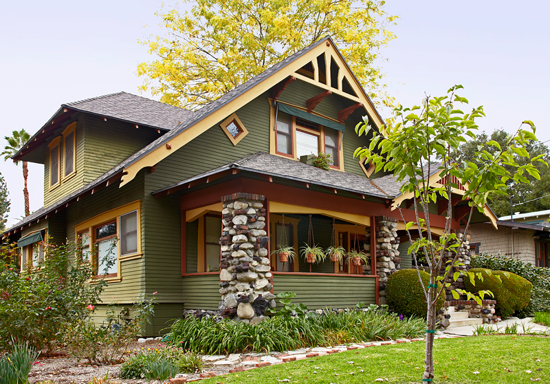 Craftsman Bungalow Exterior Paint Colors Pictures To Pin
