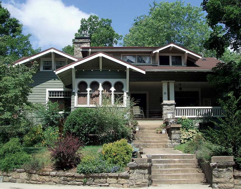 North carolina arts and crafts hotel chicago Craftsman homes in charlotte nc