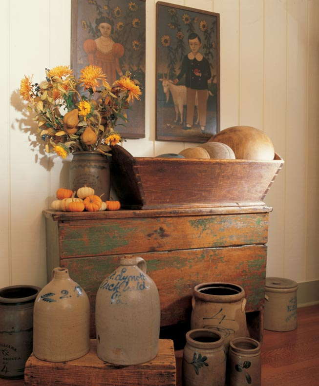 3 Ideas For Decorating With Primitives And Folk Art Old House Online Old House Online