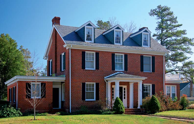 Sears houses in hopewell virginia old house online for Craftsman colonial style homes