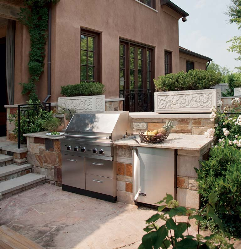 Tips for designing an outdoor kitchen old house online old house online - Design outdoor kitchen online ...