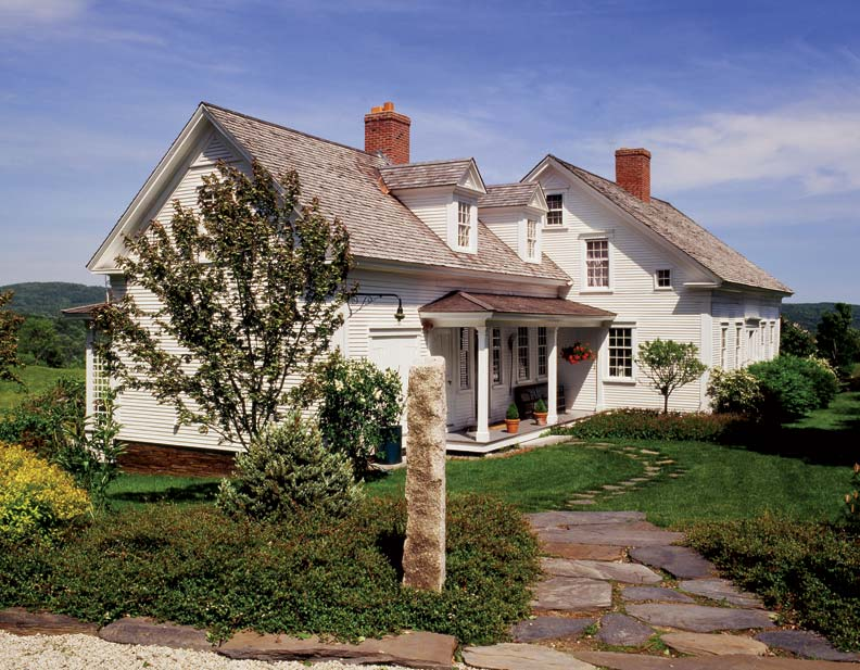 Vermont Farmhouse Restored Old House Online Old House
