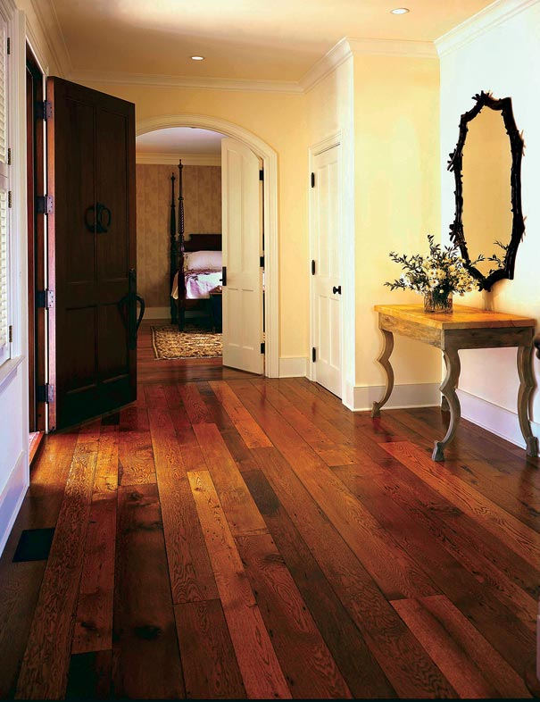Century Hardwood Flooring 19th century kitchen 19th century kitchen antique hardwood flooring Reclaimed Boards Of Varied Tones Call To Mind The Late 19th Century Practice Of Alternating