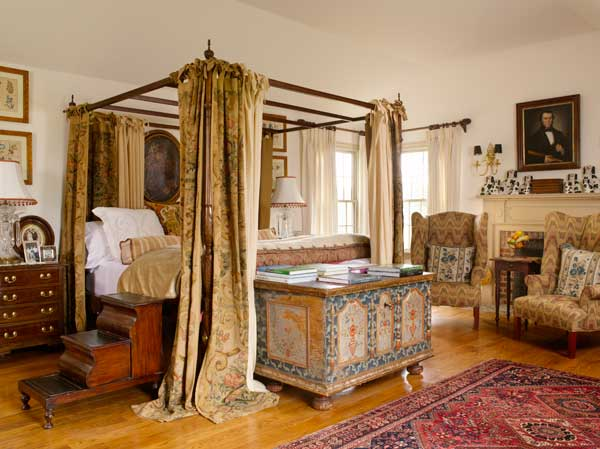 colonial revival bedrooms with an old world look old