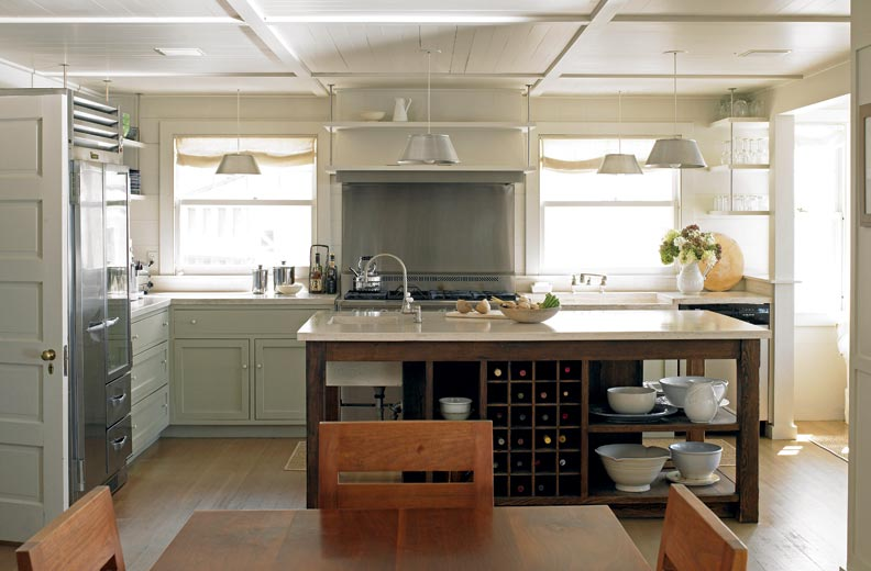 6 Ways To Make A New Kitchen Look Old Old House Online