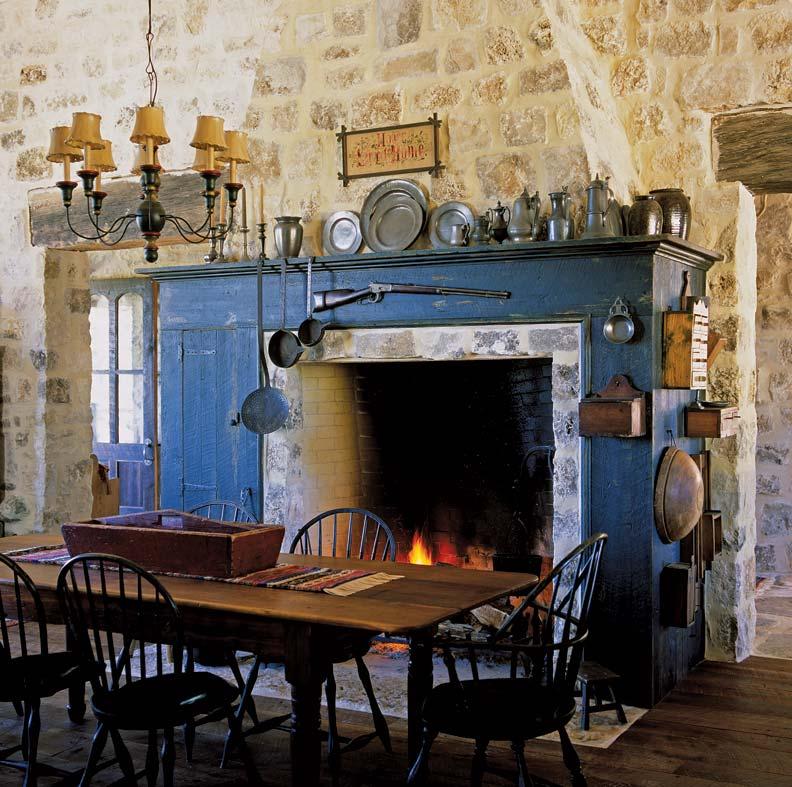 Rustic Kitchen For A Texas Farmhouse