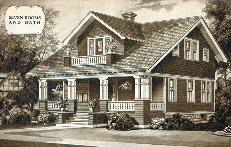 The story on sears houses old house online old house for House plan catalogs free