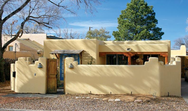 Santa Fe Style Homes Prepossessing With Santa Fe Pueblo Style Homes Image