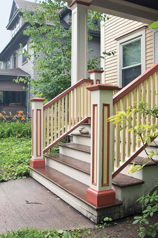 How To Rebuild Porch Stairs Old House Online Old House Online
