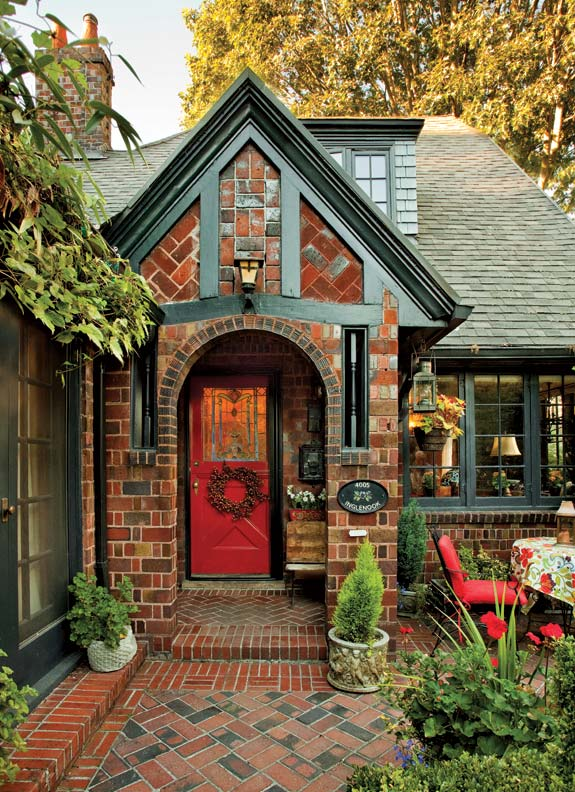 A textbook 1920s tudor in portland old house online for 1920s window