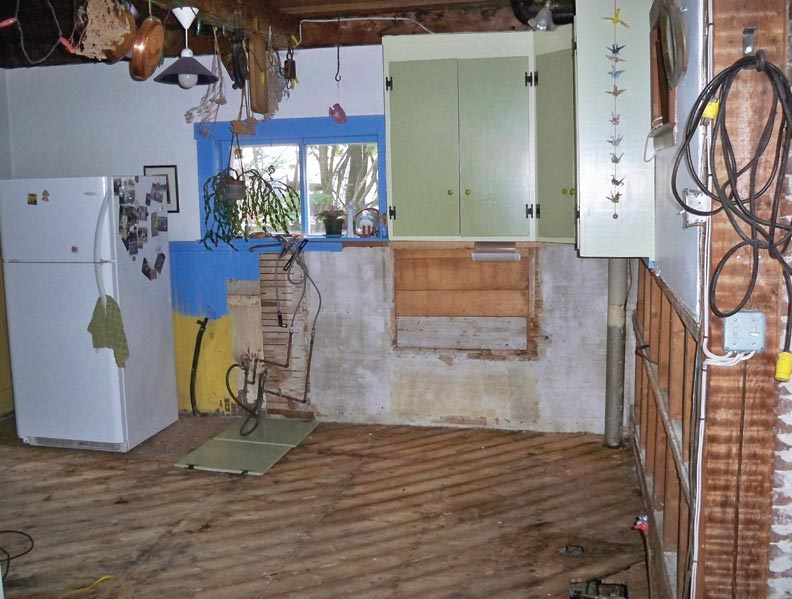 What to do if your house floods old house online old - How to repair water damaged kitchen cabinets ...