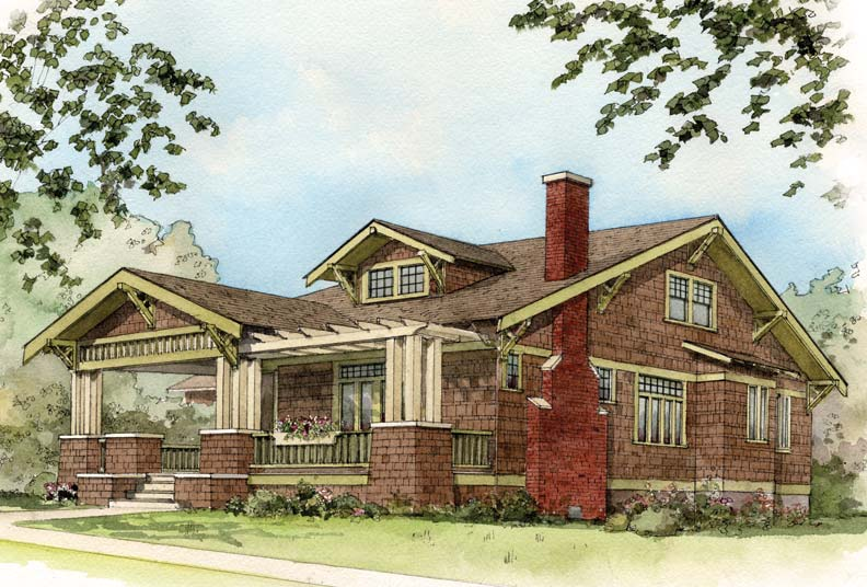 Early 20th Century Suburban House Styles Old House