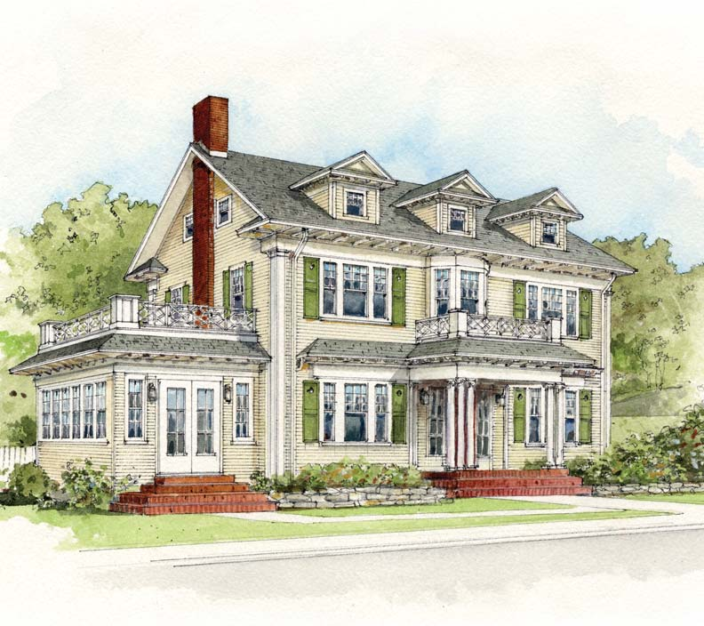 Early 20th century suburban house styles old house for House architecture styles