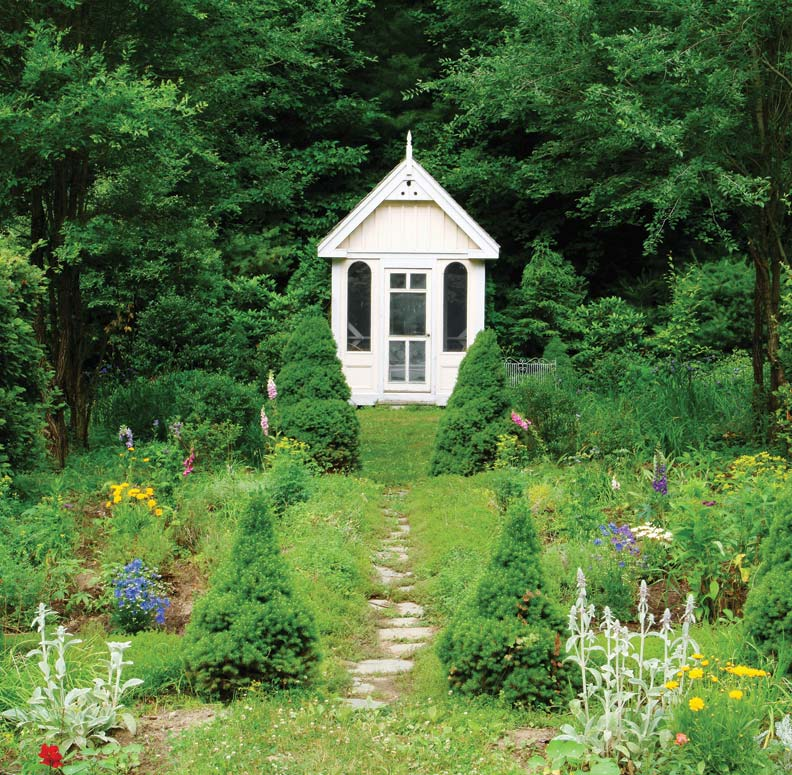 Victorian Backyard Designs : How To Design a Summerhouse for Your Garden  OldHouse Online  Old