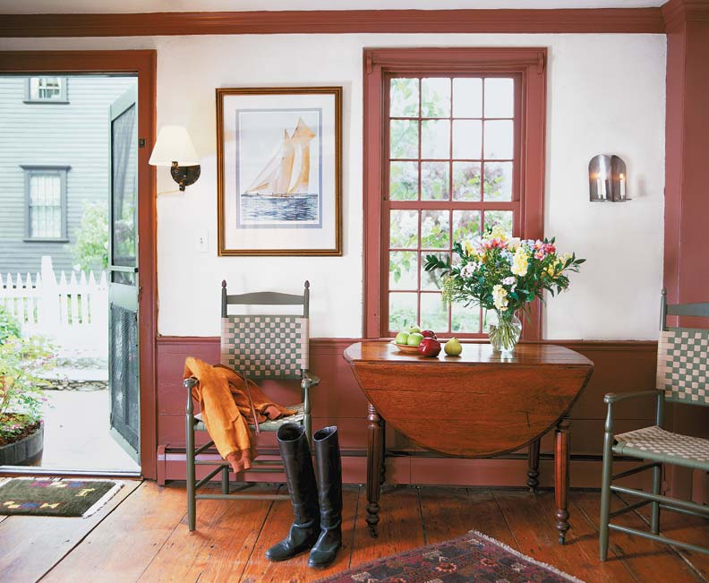 6 ideas for country wainscots old house online old - Federal style interior paint colors ...