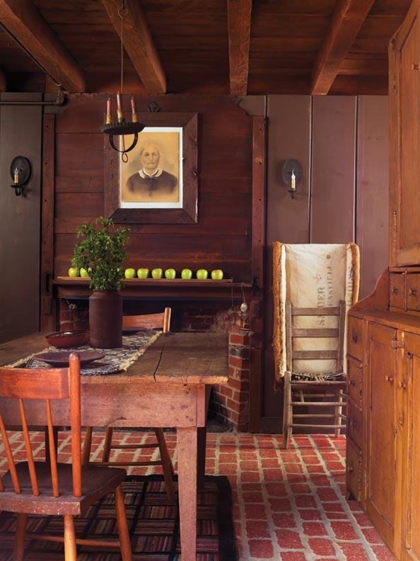 Pinterest primitive colonial bedrooms joy studio design for Primitive house plans