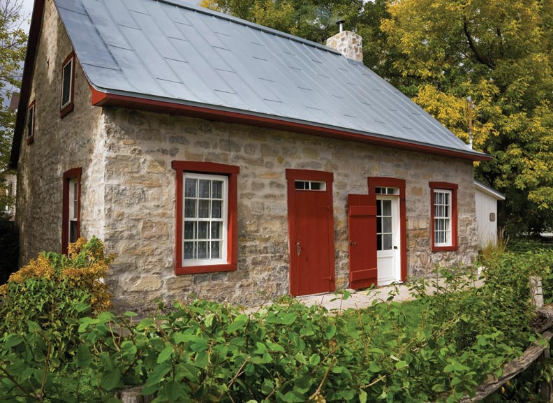 Preserving a stone house in quebec old house online old house online - Houses roof windows ...