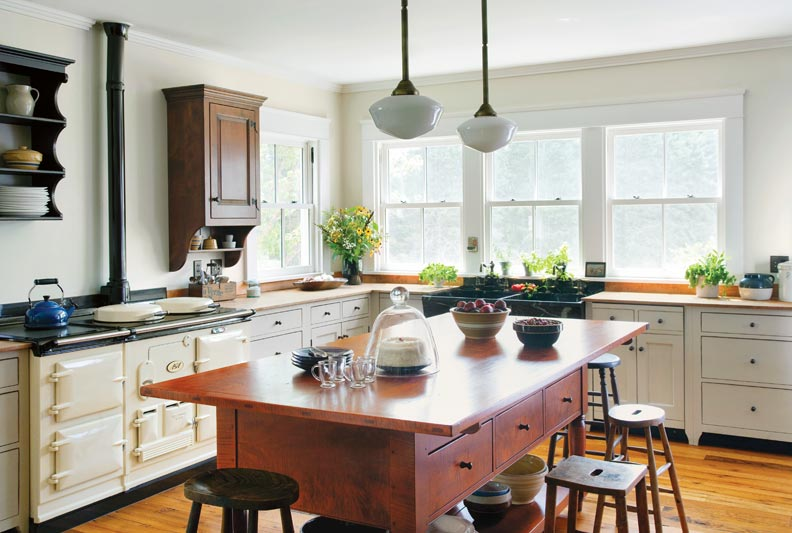 To Design A Traditional Kitchen Old House Online Old House Online