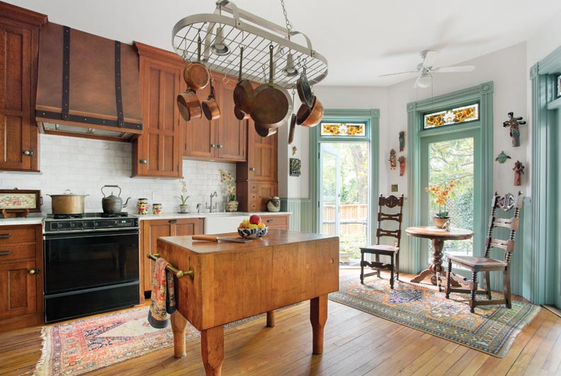 reviving a late 19th century row house kitchen old house