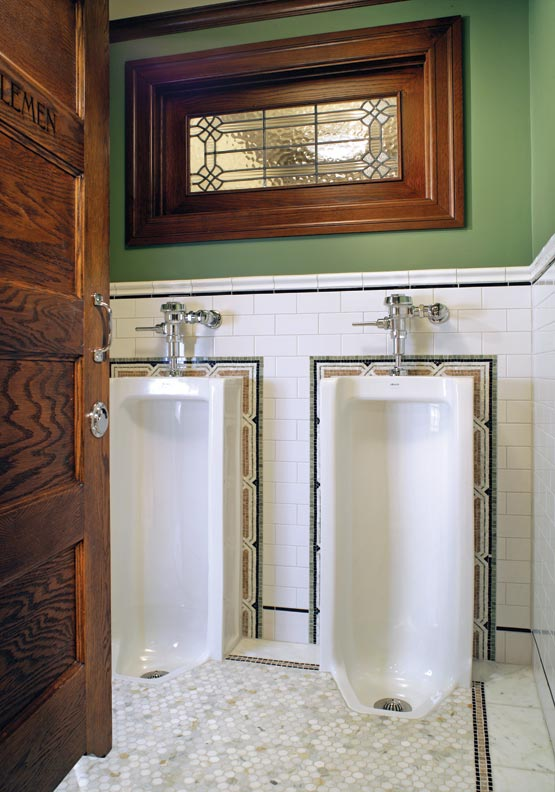 Ideas From An Irish Pub Bathroom Old House Online Old