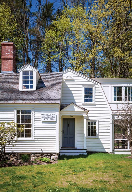 Preserving A Historic Cottage In Concord Massachusetts