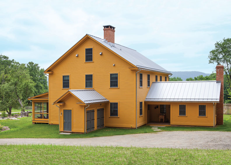 A Net Zero Energy New Old Farmhouse Old House Online
